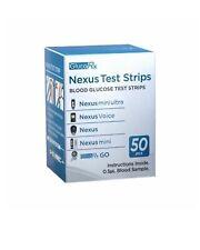 GlucoRx Nexus Test Strips Monitoring Blood Glucose
