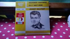 JOHNNY HALLYDAY .. EP CANADIENS ... SOUVENIRS SOUVENIRS ... TIRAGE A 100 EXEMPL