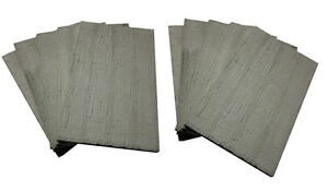 10 Mauerplatten -Struktur: Betonplatten für Modellbahn oder Dioramen!