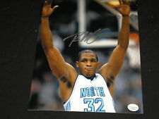 RASHAD MCCANTS Signed UNC Tar Heels Basketball 8x10 Photo 2005 Champs BLOWOUT