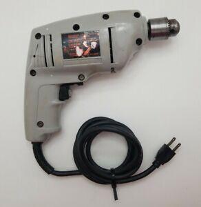 "JC Penney 3/8"" Single Speed Drill Model 0220E Jacob's multi-craft USA  vintage"
