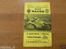 1974 INTERNATIONALE OLOF RACES CIRCUIT BEEKSE BERGEN TILBURG 7-4-1974,HARTOG