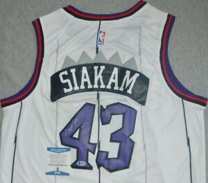 Pascal Siakam Autographed Signed Swingman Jersey Beckett COA Toronto Raptors NBA