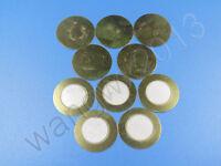 20pcs New 20mm Diameter Piezoelectric Piezo Ceramic Copper Buzzer Film Gasket