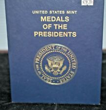 UNITED STATES MINT MEDALS OF THE PRESIDENTS 43 MEDALS