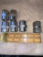 """New listing Swagelok Cajon 316 Stainless Steel Coupler Coupling 1"""" Female Lot"""