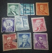 USPS Postage Stamps LOT of (85) from 1950-60 Stamps Great Collection 9 Different