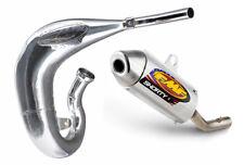 FMF Exhaust System - Fatty Pipe & Shorty Silencer - Honda CR80R - 1996-2002