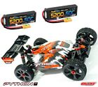 Corally 1/8 Python XP 2021 4WD 6S Brushless RTR Buggy + 3s 50c Lipo X2