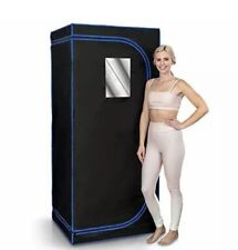 Serenelife Portable Full Size Infrared Home Spa| One Person Sauna | with Heating