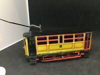 PAYA - Jouet en tole  mécanique  Tramway Barcelone réedition Fabbri  1/24