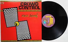 Mx-80 sound-Crowd Control LP First 1981 Press Ralph Records Pere Ubu o-type