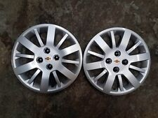 "Pair of 2 Brand New 2009 09 2010 10 Cobalt 15"" Hubcaps Wheel Covers 3285"