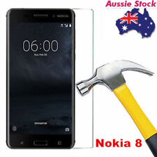 9H 0.3MM Tempered Glass Screen Protector For Nokia 8 Cover Entire Flat Screen