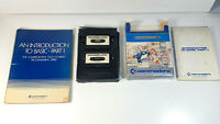 Introduction to Basic Commodore 64 C64 Spiel CIB Eng Version 2 Books + Cassettes