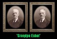 Grandpa Esbat 5x7 Haunted Memories Changing Portrait Halloween Lenticular