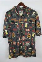 Authentic Big Dog Hawaiian Shirt Size Large