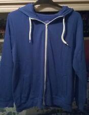 New Look Men's Blue Hoodie size XL