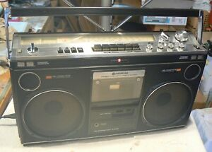 Hitachi TRK-8080E Radio Cassette Portable,Faulty Tape, Clean And Tidy Condition,