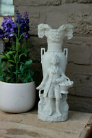 Antique French bisque porcelain Vase figurine