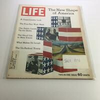 Life Magazine: Jan 8, 1971 - 2-in-1 Issue: The New Shape of America