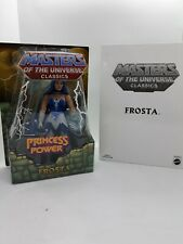 MASTERS OF THE UNIVERSE CLASSICS    FROSTA mint A23
