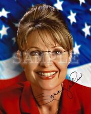 Sarah Palin signed 5x7 Autograph Photo RP - Free ShipN!