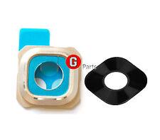Orig✅ Kamera Linse Objektiv Glas Camera Lens Samsung Galaxy S6 EDGE PLUS GOLD ▀