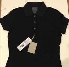 Lacoste Polo 2 Vintage Washed Black Pique Fitted Rare Preppy Tennis Shirt