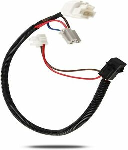 12 Volt Power Adapter Outlet Wire Harness Switch Socket for Jeep Wrangler TJ JK