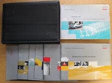 AUDI A4 S4 HANDBOOK OWNERS MANUAL WALLET 1997-2002 PACK 14503