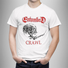 Camiseta Entombed Crawl -  Death Metal Entombed T-Shirt