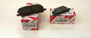 LEXUS OEM FACTORY FRONT AND REAR BRAKE PAD SET 2004-2009 RX330 RX350 RX400H