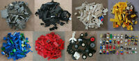 Lego Bundle of mixed colour blocks, pieces, wheels. All washed & cleaned