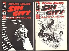 "Sin City Lot #1-6 Set  - ""A Dame To Kill For"" Frank Miller - (Grade 8.0-9.0) WH"