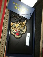RALPH LAUREN POLO TIGER KEY CHAIN KEY RING w/ box VINTAGE STYLE ACCESSORY