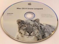 2010 Apple Computer Mac OS X Snow Leopard Install DVD Software Version 10.6.3