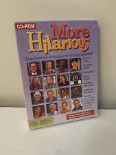 More Hilarious (Dom DeLuise & Others) (PC-CD, 1994) for MAC - NEW Sealed