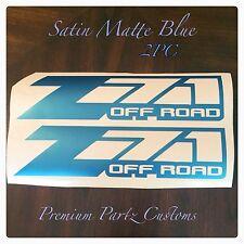 Z71 Off Road Decals 2PC Set Body Window Sticker Vinyl For Silverado Tahoe GMC