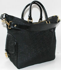 DKNY T&C TURNLOCK BAG  PURSE HANDBAG BLACK NEW AUTHENTIC
