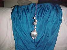 STUNNING WALL Hanging DECORATION Sea SHELL Pearls SARI INDIA Ethanic DECORATION
