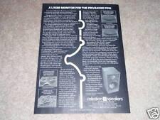 Celestion Ultra SL-6 Speaker Ad,1981, Nice Ad!