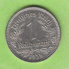 1 Reichsmark 1938 A hübsch besserer Jahrgang nswleipzig