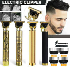 Mens Hair Clippers Beard Trimmer Electric Shaver Barber Haircut Grooming Kit Set