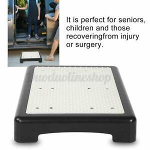 Anti-Slip Portable Foldable Half Step to/from SUV Stool Ladder Elderly Pregnant