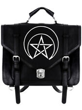 Restyle Unholy Messenger Bag Backpack Tas Rugzak Gothic Occult Rock Alternative