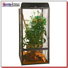 Best Large Screen Terrarium Habitat Reptiles Tank Cage Lizard Snake Amphibian