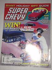 Super Chevy Magazine '67 Camaro Tennessee & NJ December 1997 030517NONRH