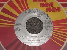 """Gus Hardin~How Are You Spending My Night~45rpm 7"""" Single~PROMO~FAST SHIPPING!"""