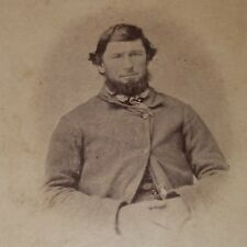 RARE 1860s CIVIL WAR Tinted CDV of PA Soldier